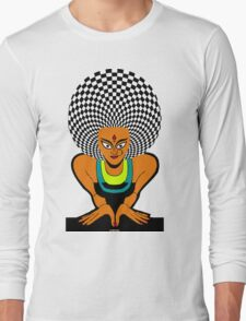 Psychedelic Desi Indian T-Shirt  T-Shirt