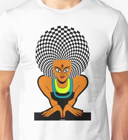Psychedelic Desi Indian T-Shirt  Unisex T-Shirt