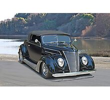 1937 Ford Convertible Coupe Photographic Print