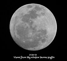 Moon 2-24-13 by Donna Anglin Husband