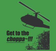Quotes and quips - Choppa~ - light Kids Tee