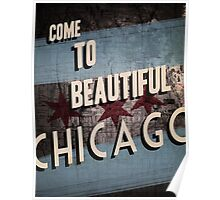 Beautiful Chicago Poster
