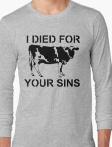 I Died Sins T-Shirt Long Sleeve T-Shirt