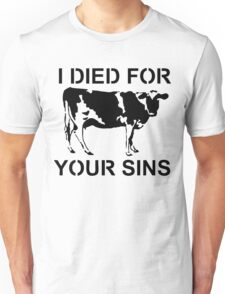 I Died Sins T-Shirt Unisex T-Shirt