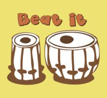 Tabla Drum Beat It T-Shirt Kids Tee