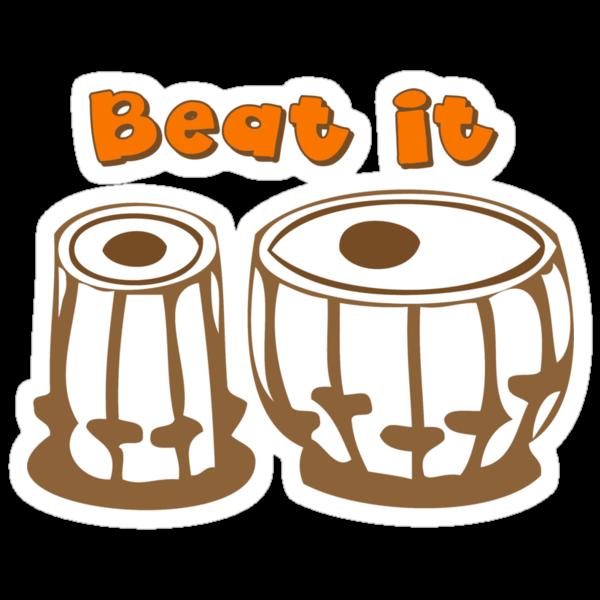 Tabla Drum Beat It T-Shirt by mindofpeace