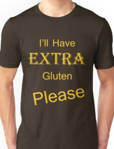 Extra Gluten - Yellow T-Shirt