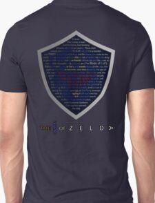 The Legend of Zelda Sheild Poem (Alternate) T-Shirt