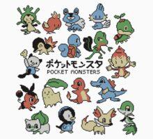 pokemon pocket monsters by Poppy Smith