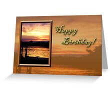 Birthday Pier Greeting Card