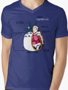 Anatomy of a neighbor Mens V-Neck T-Shirt