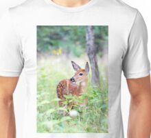 Once upon a Fawn - White Tailed Deer Fawn Unisex T-Shirt
