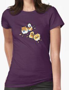 2 Cute Pomeranians T-Shirt