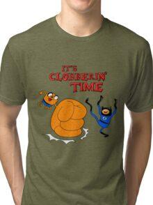 Clobberin' Time Tri-blend T-Shirt