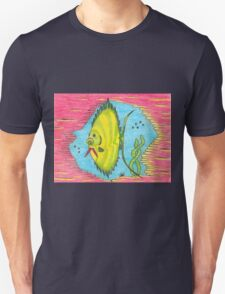 Green-N-Gold Fish (tee) T-Shirt