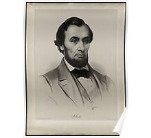 Lassalle portrait of Lincoln Poster