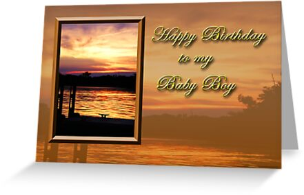 Birthday Baby Boy Pier by jkartlife