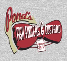 Fish Fingers & Custard Kids Tee