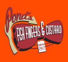 Fish Fingers & Custard Kids Clothes