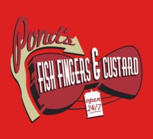 Fish Fingers & Custard One Piece - Long Sleeve
