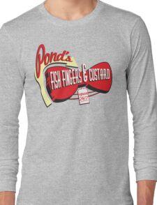Fish Fingers & Custard Long Sleeve T-Shirt