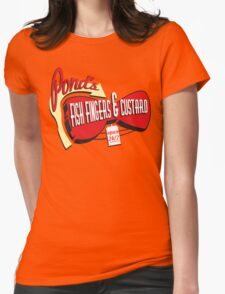 Fish Fingers & Custard Womens Fitted T-Shirt