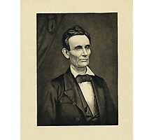 Portrait of Lincoln, artist's proof Photographic Print