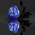 Blue Rose by JuliaFineArt