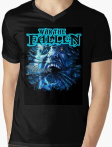 WTF-Sea of Fracture Mens V-Neck T-Shirt