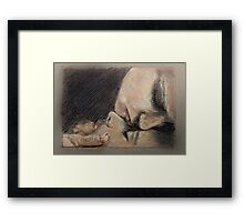 He Will Be the Man Who Loves Me Framed Print