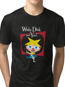 Winky Dink and You! Tri-blend T-Shirt