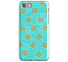 Mint Chocolate Chip Flowers iPhone Case/Skin