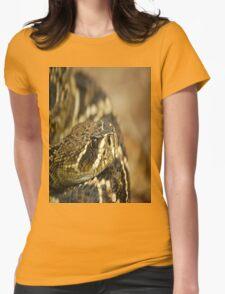 PUFF ADDER Womens Fitted T-Shirt