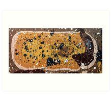 Norfolk Plains Landscape DNA. Art Print
