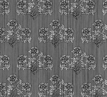 Victorian Floral Wallpaper Pattern by RedPine