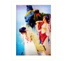 A Coign of Vantage by Sir Lawrence Alma Tadema Art Print