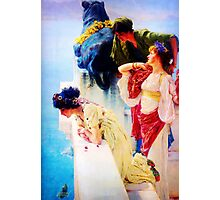A Coign of Vantage by Sir Lawrence Alma Tadema Photographic Print