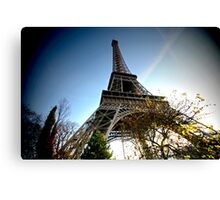 Wide angle Eiffel Canvas Print