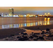 San Diego at Night Photographic Print
