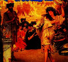 A Harvest Festival 2F A Dancing Bacchante at Harvest Time by Sir Lawrence Alma Tadema by Adam Asar