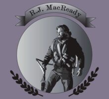R.J. MacReady Grayscale by Alan Grube