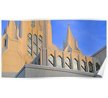 San Diego California Temple Poster