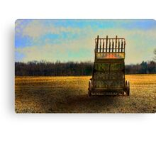 """ Rusting Till the Morning "" Canvas Print"