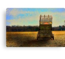 """ Rusting Till the Morning "" Canvas Print"