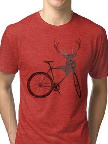Stag Bike Tri-blend T-Shirt