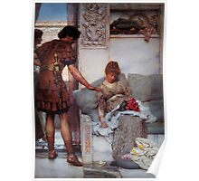 A Silent Greeting by Sir Lawrence Alma Tadema Poster