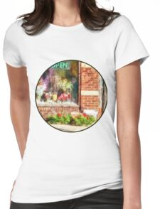 Christmas Wreathes For Sale Womens Fitted T-Shirt