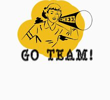 Cheer Go Team! Womens Fitted T-Shirt