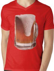 Beer Design Mens V-Neck T-Shirt