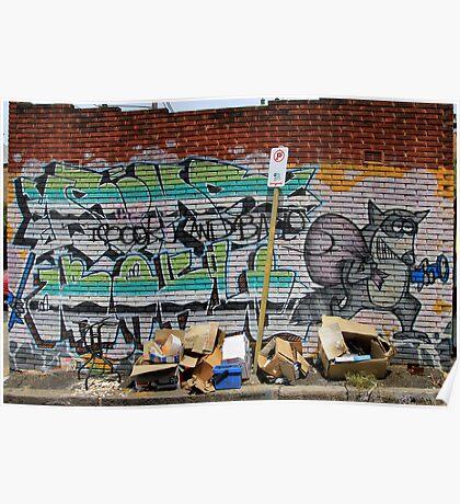 Street Art: global edition # 54 Poster